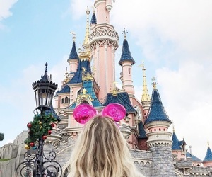 disneyland, france, and girl image