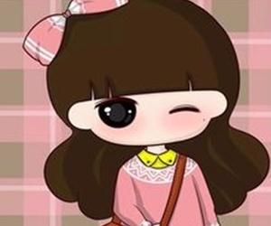 chibi, doll, and wallpaper image