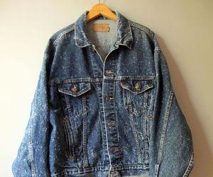 denim jacket, ebay, and hipster image
