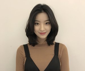 fromis, saerom, and idol school image