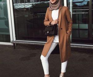 fall, winter, and hijabista image