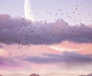 Dream, sky, and imagination image