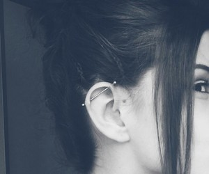 beautiful, piercing, and industrial image