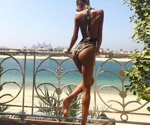 babe, beauty, and bikini image