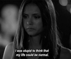 quotes, Nina Dobrev, and the vampire diaries image