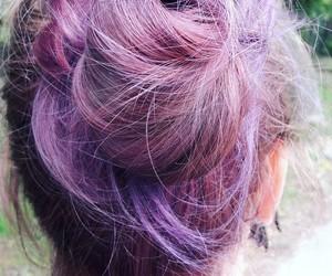 aesthetic, alternative, and purple hair image