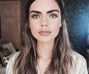 girl, goals, and eyebrows image