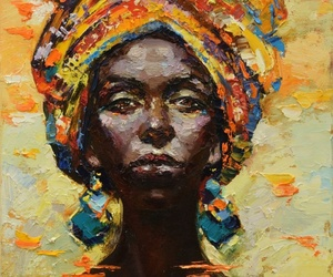 african art, african fashion, and art image