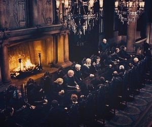 harry potter, voldemort, and death eaters image
