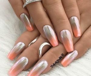 acrylics, make-up, and nail polish image