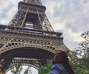 eiffel tower, france, and french image