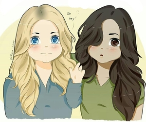 draw, fanart, and pretty little liars image