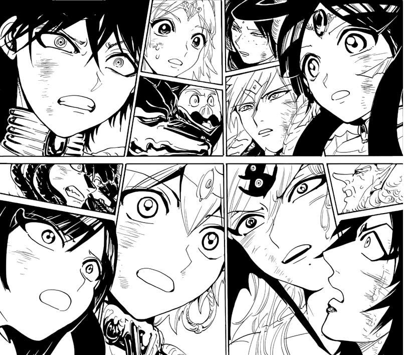 manga, magi, and judal image