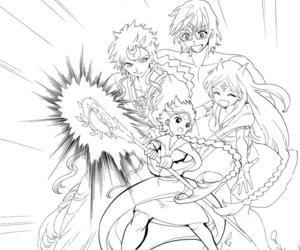 aladdin, magi, and manga image
