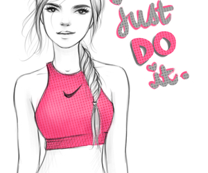 EXCERCISE, fit, and Just Do It image