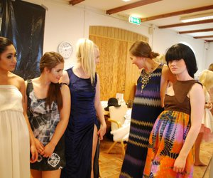 backstage, fashionshow, and models image