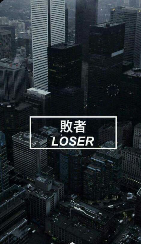 wallpaper, tumblr, and loser image