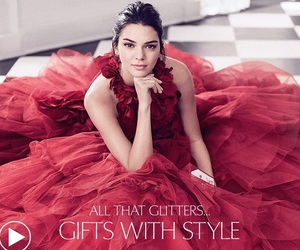 estee lauder and kendall jenner image