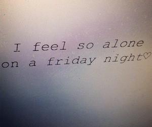 alone, friday, and grunge image