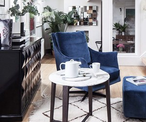eclectic, interior design, and home tour image