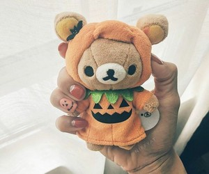 bear, Halloween, and plushie image