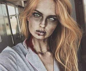 romee strijd, beauty, and Halloween image