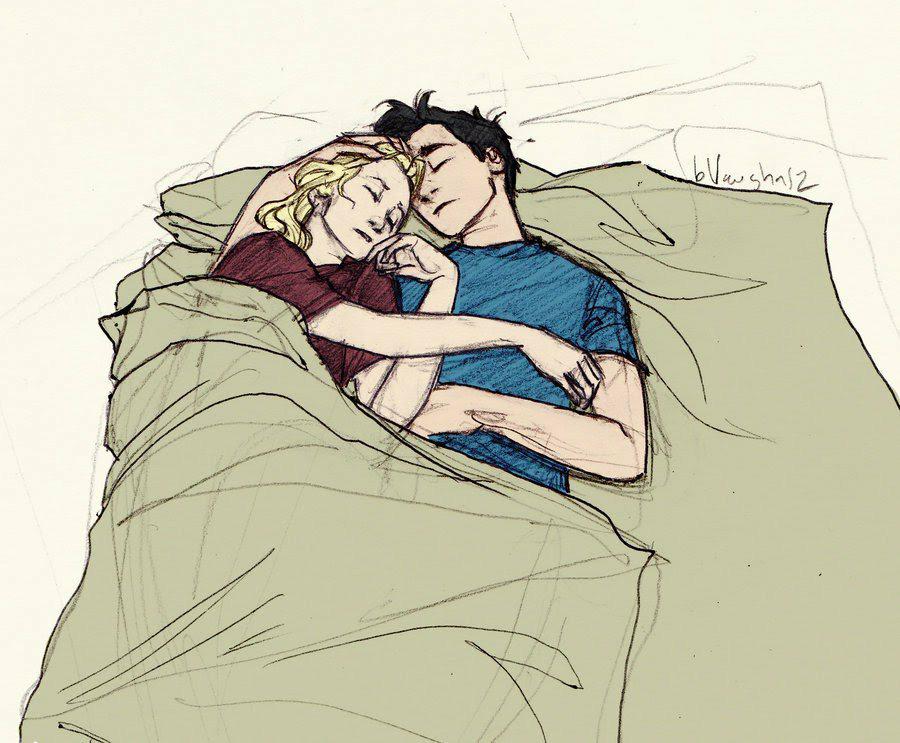 спящая пара картинки рисунки там