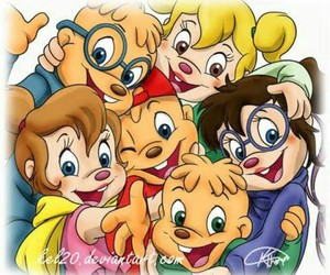 chipmunks and chipettes image