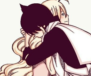 mavis, zervis, and fairy tail image