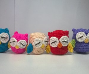 colores, crochet, and toy image