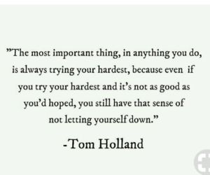 quotes, spiderman, and tom holland image