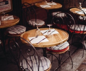 chairs, coffee, and italy image