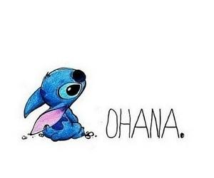 ohana, stitch, and family image