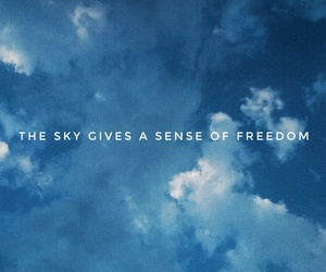 freedom and sky image