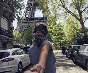couple, france, and girl image