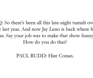 paul rudd and quote image