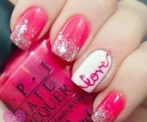 colors, nails, and nailart image