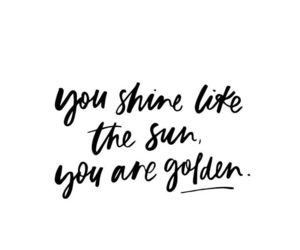 quotes, golden, and inspiration image