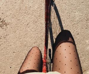 autumn, bike, and cold image
