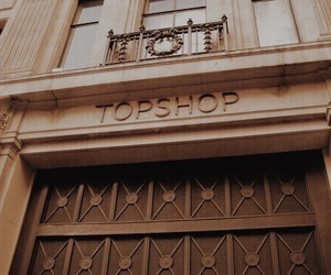 brown, beige, and topshop image