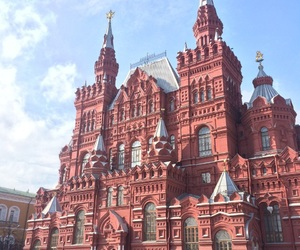 monument, russia, and moscow image