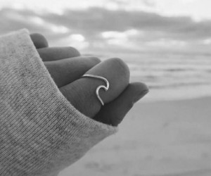 ring, ocean, and waves image