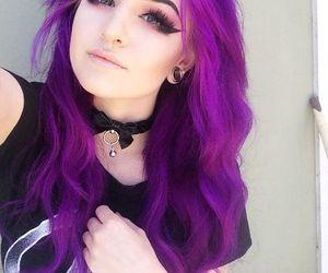 purple and scene image