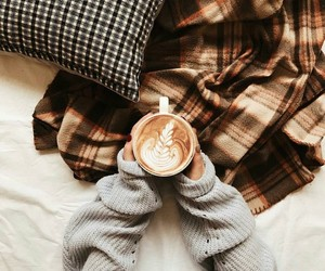 autumn, coffee, and cute image