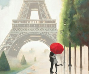 kiss you, love in paris, and luxury image