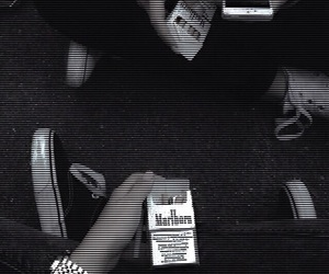 grunge, cigarette, and hipster image