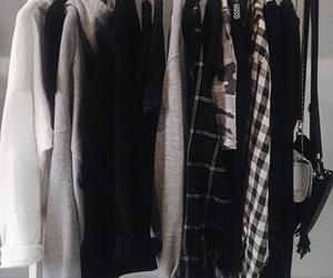 bags, black, and closet image