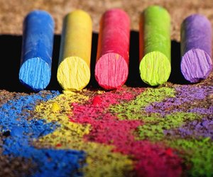 chalk, colors, and photography image