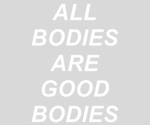pink, quotes, and body image