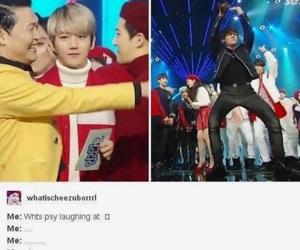 bts, taehyung, and psy image